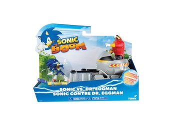 Sonic Boom - Sonic vs Dr. Eggman Figure Set ! Sonic The hedgehog