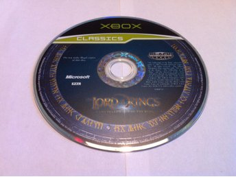 Xbox: The lord of the Rings: The Fellowship of the Ring