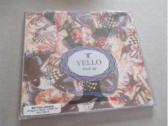CD-singel: Yello - Tied up in Life (1988)