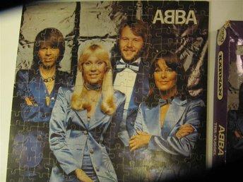 ABBA, Pussel 200 bitar trä. Kärnanpussel, 3 mm trä. Alla bitar finns. - Bromma - ABBA, Pussel 200 bitar trä. Kärnanpussel, 3 mm trä. Alla bitar finns. - Bromma