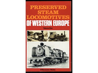 Preserved steam locomotives of Western Europe vol. 1 (eng)