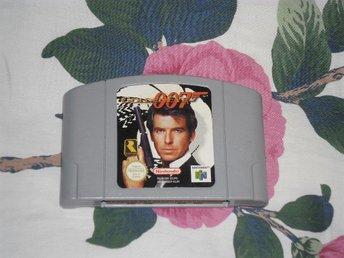 Nintendo 64: James Bond Goldeneye 007 (endast kassett) - Stockholm - Nintendo 64: James Bond Goldeneye 007 (endast kassett) - Stockholm
