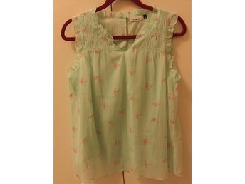 Ny Only Flamingo printed top | Strl 42