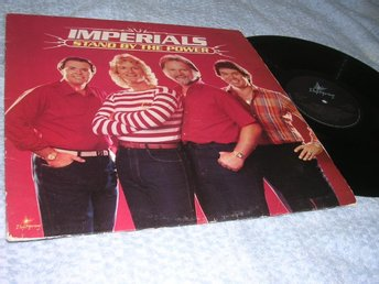 Imperials - Stand By The Power (LP) Elvis-relaterat EX/VG+
