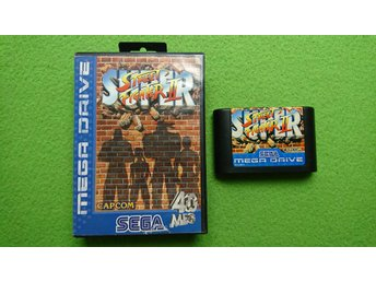 Super Street Fighter 2 Sega Megadrive 16-bit