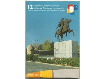 12 Authentic Olympic Postcards - Athens 2004