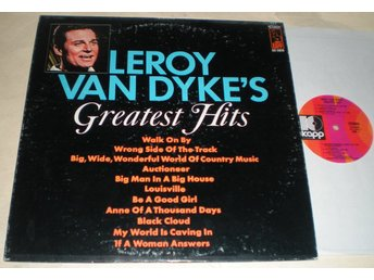 Leroy Van Dyke Lp Greatest Hits US 1969 VG++