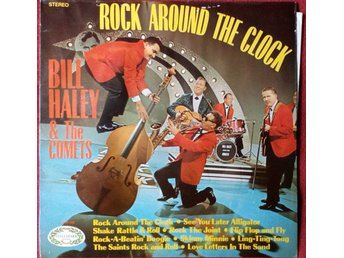 Bill Haley & The Comets* - Rock Around The Clock (LP, Comp)
