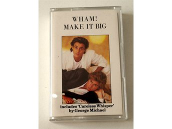 Wham! - George Michael /  Make It Big kassettband 1984 Chrome