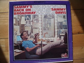 Sammy Davis / Back on broadway