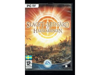 Pc-spel - Slaget om Midgård (med manual)