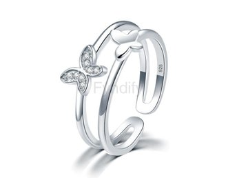 Ring Style for Girls Ladies Simulated Diamond size 7