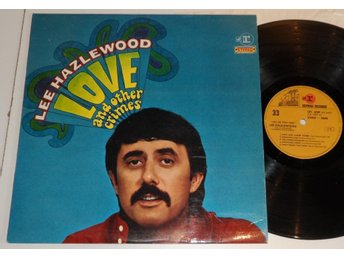 Lee Hazlewood ?– Love And Other Crimes - Frankrike  LP