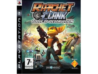 PS3 SPEL -  Ratchet and Clank: Tools of Destruction .