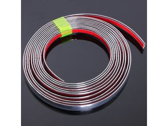 Chrome Car Styling Moulding Strip Trim Self Adhesive Cras...