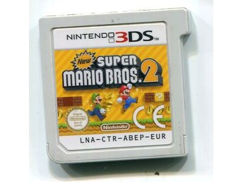 "Nintendo 3DS spil ""New Super Mario Bros 2"""