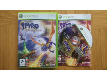 Xbox 360: Legend of Spyro: Dawn of the Dragon (svenskt tal)
