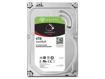 "Seagate IronWolf NAS HDD 3,5"" 4TB. 64MB, 5900RPM"