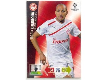 DJEBBOUR  -OLYMPIACOS - CHAMPIONS LEAGUE 2012-2013