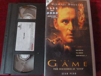 THE GAME, VHS FILM