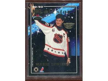 Mario Lemieux Wayne Gretzky - 1993-94 Stadium Club All-Stars Members Only Par