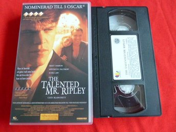 THE TALENTED MR. RIPLEY,  VHS, FILM