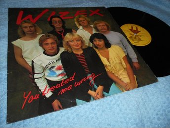 Wizex - You Treated Me Wrong(LP) VG+/VG++