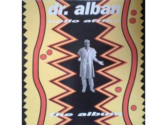 Dr. Alban title* Hello Afrika (The Album)* Euro House, SweMIx Cult Scandinavia L
