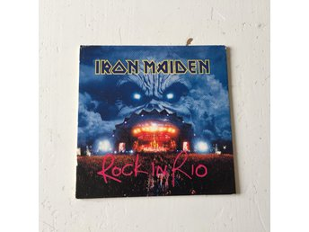 IRON MAIDEN  - ÖLUNDERLÄGG. ROCK IN RIO.