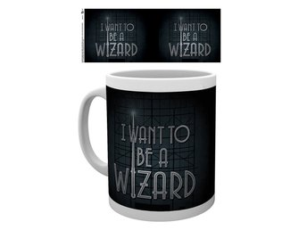 Mugg - Harry Potter - Fantastic Beasts I Want to be a Wizard (MG2035)