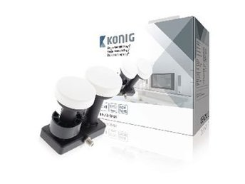 König LNB Single Monoblock 4.3° 1 dB