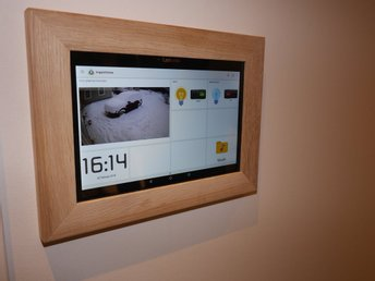 "Onwall mount tablet komplett med 10"" surfplatta - Ek"