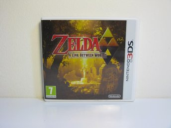 Nintendo 3DS Zelda Link Between Worlds i nyskick