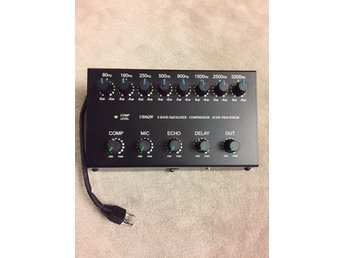 ICOM 8-band EQUALIZER - COMPRESSOR - ECHO PROCESSOR