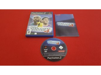 PRO EVOLUTION SOCCER PES 4 till Sony Playstation 2 PS2