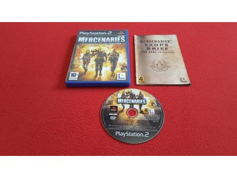 MERCENARIES till Sony Playstation 2 PS2