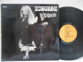 SCORPIONS - IN TRANCE - RCA PPL 1-4128