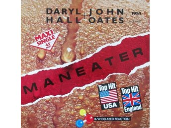 Daryl Hall + John Oates - Maneater 1982 Rock
