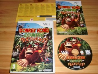 Wii: Donkey Kong Country Returns