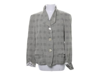 Fashion Group, Blazer, Strl: 46, Ljusgul/Svart