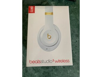 Beats by Dre Beats Studio 3 Wireless Vit obruten förpackning