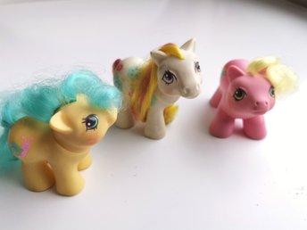 Vintage My Little Pony G1  Baby TAPPY Newborn Baby Ponies