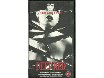 REDEMPTION  - DEEP RED   (VHS - EJ  TEXT !  )