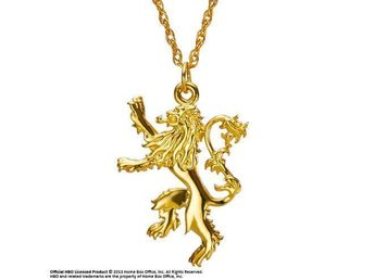 Game of Thrones Lannister Sigil Pendant (Sterling Silver, gold-plated)