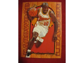 MOOKIE BLAYLOCK -  HARDWOOD LEADER - FLAIR 1995-96  - BASKET