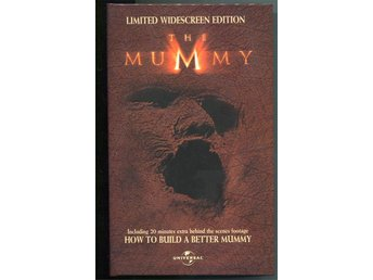 The Mummy ltd edition utgåvan med bonus material