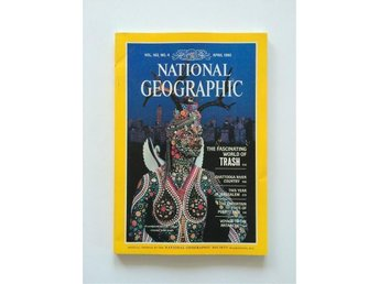 National Geographic vol. 163 no. 4 April 1983,  English, Trash, Chattooga River