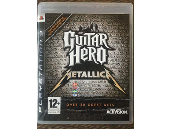 Guitar Hero: Metallica - Playstation 3/PS3 - Svensksålt - Komplett
