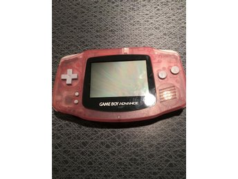 Defekt Gameboy Advance Rosa Färg