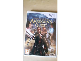 The lord of The ring Aragorns quest wii *ny & inplastad*